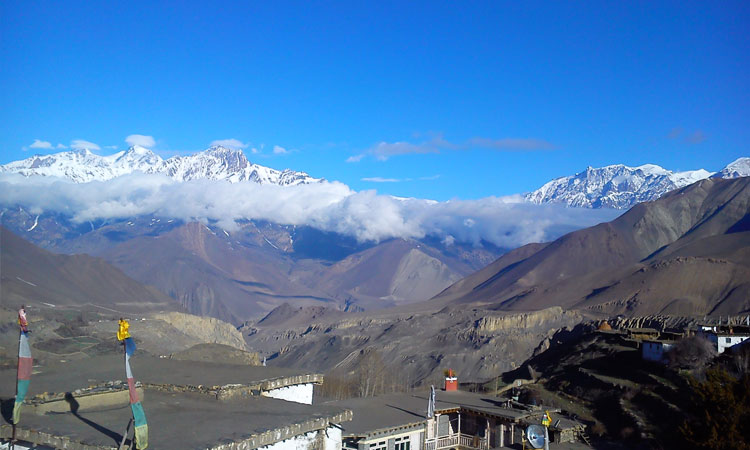 Jomsom View | Jomsom Lower Mustang Trek