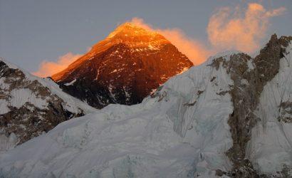 Sunrise over high peak | Everest View Trek